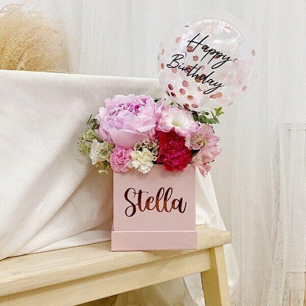 Sweet Peony Bloom Box
