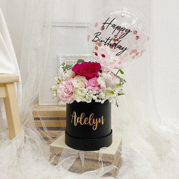 Ronde Rouge Ruby Bloom Box