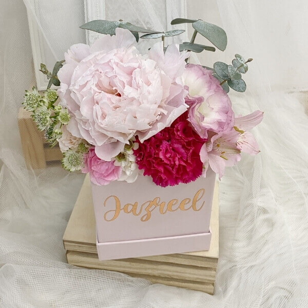 Sweet Peony Bloom Box