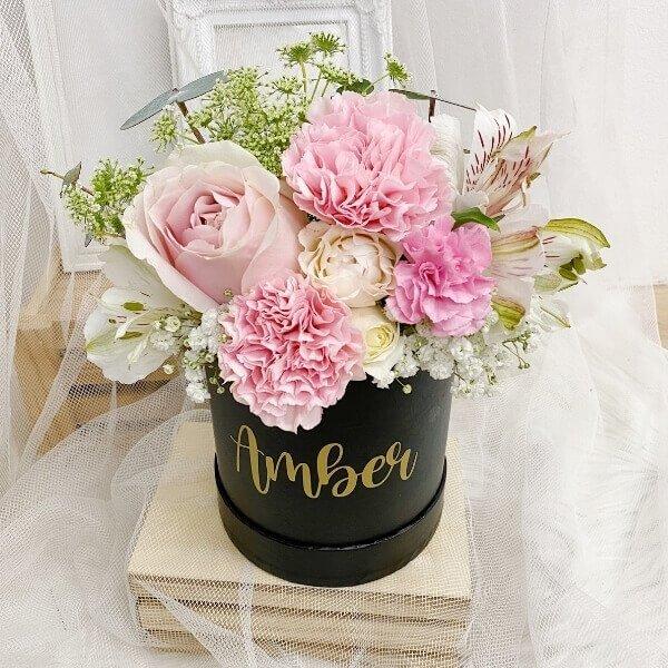 Ronde Rouge Pink Bloom Box