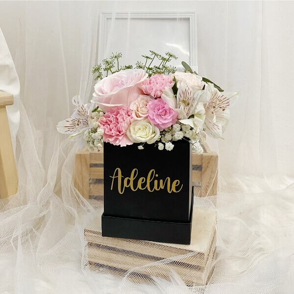 Pink Rouge Bloom Box