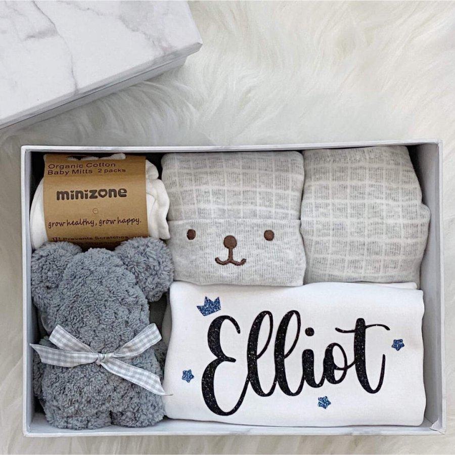 Baby Boy Gift Box- Close up