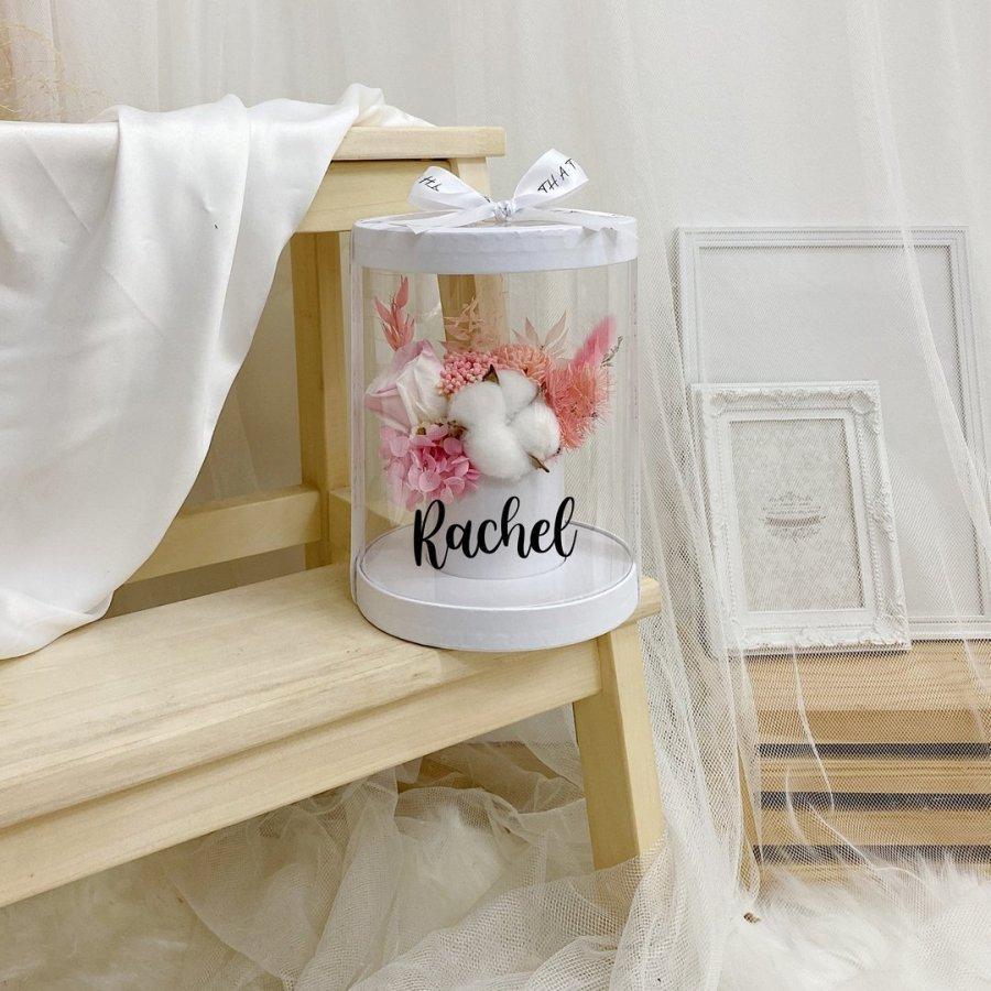 Timeless PVC Box - Pink White