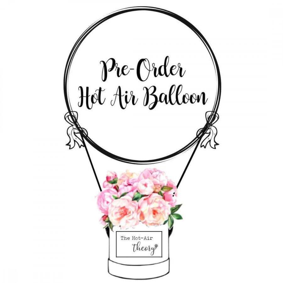 Pre Order Hot air balloon