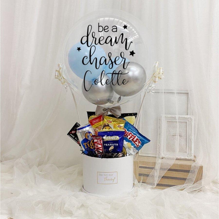 Premium Snack Box Hot Air Balloon