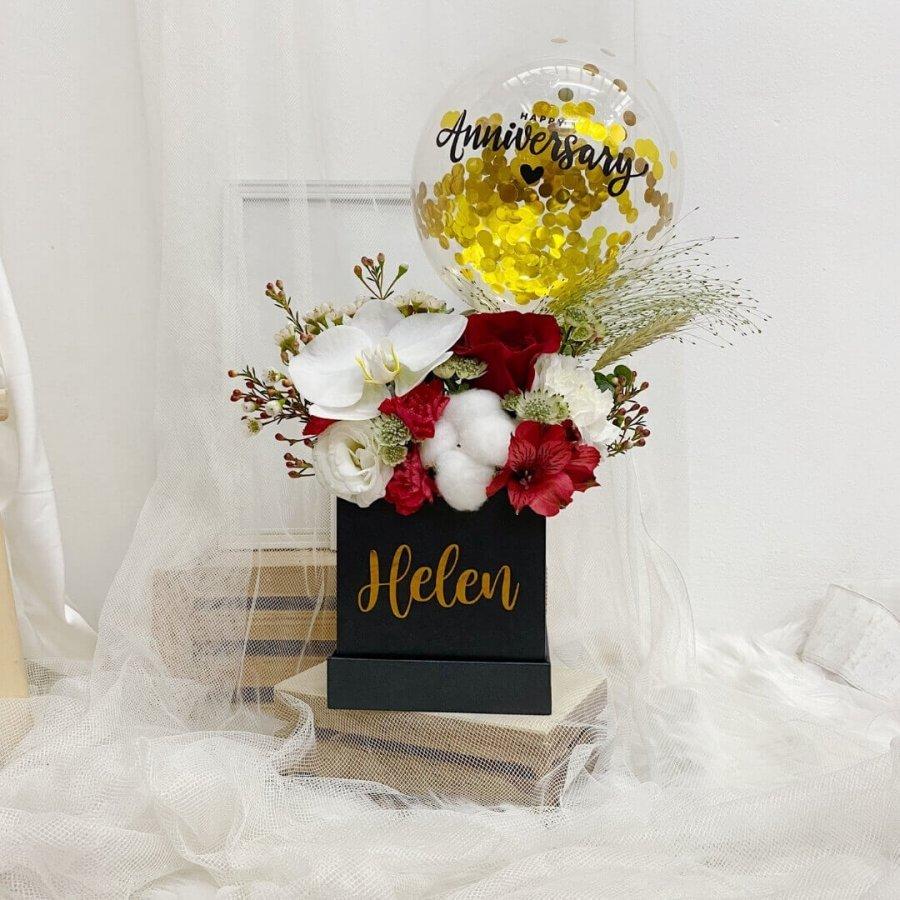 Scarlet Bloom Box