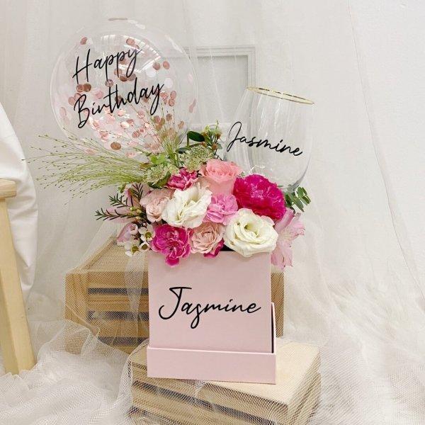 Pink Gem Bloom Box