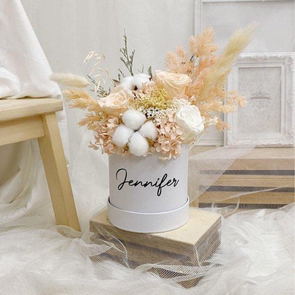 Timeless Peach Bloom Box