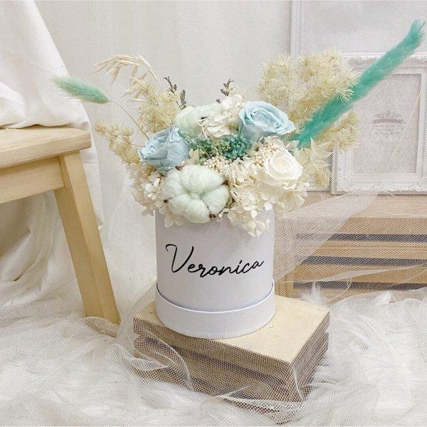 Timeless Mint Bloom Box