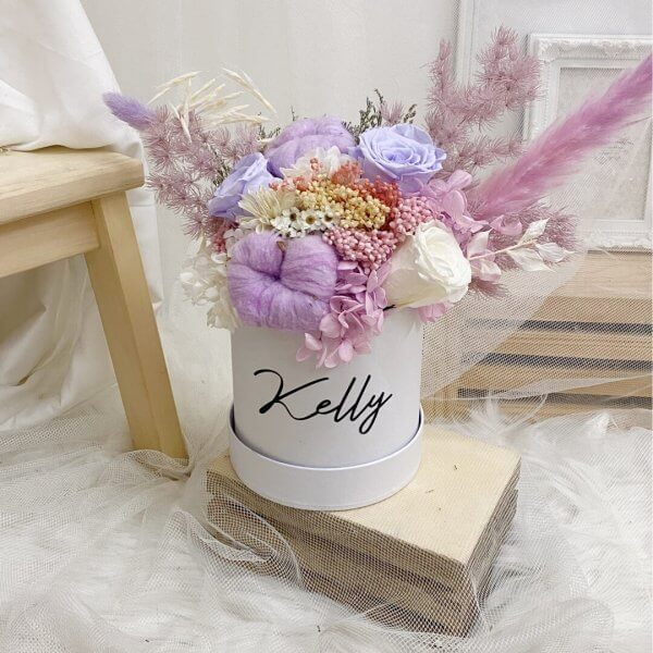 Timeless Purple Bloom Box