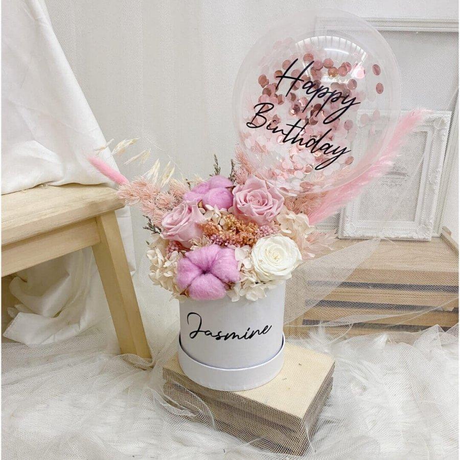 Timeless Pink Bloom Box
