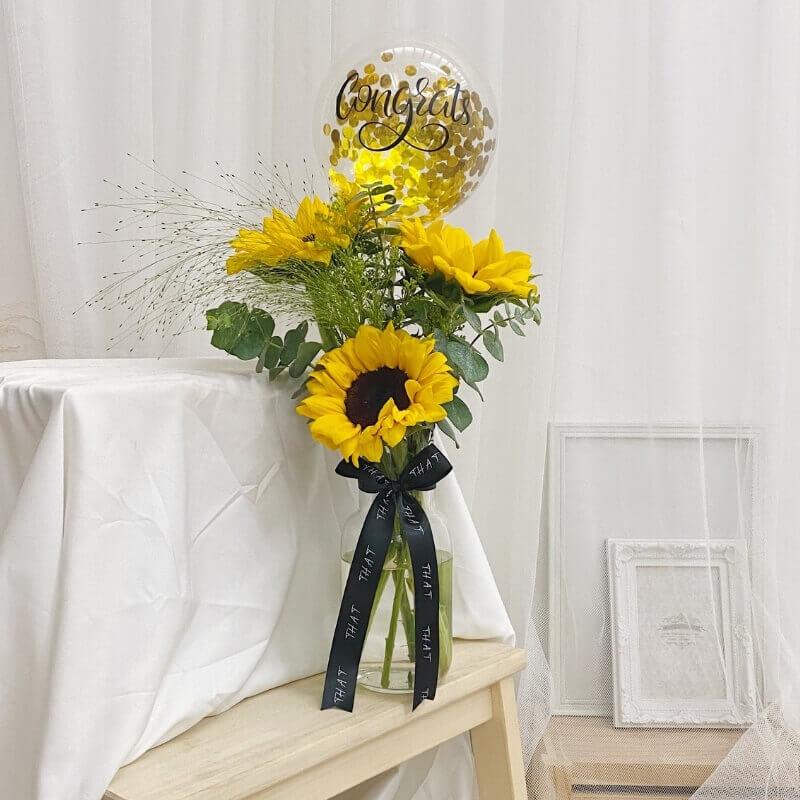 Sunflower Fleur Jar